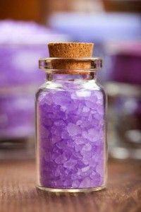 Homemade Bath Salts – Lavender