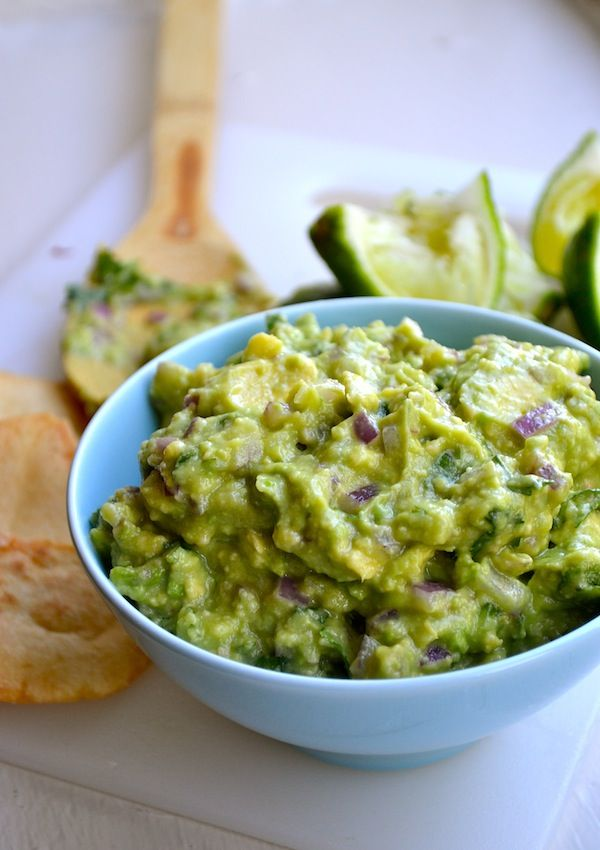 Goat cheese guacamole...serve with tortilla chips and as topping for potatoes, tacos, sandwiches and fajitas