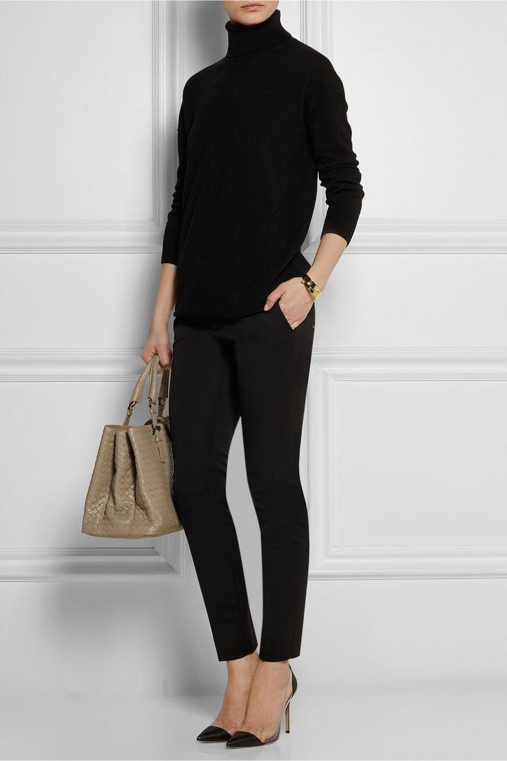 Gucci|Stretch wool and silk-blend skinny pants|NET-A-PORTER.COM