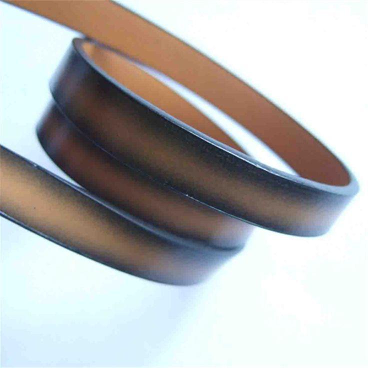 1 M/stks Lichtbruin 10mm Platte PU Lederen Koord Armband Ketting Maken Cord Componenten in Materiaal: hoge kwaliteit pu leerArtikelen staat: 100 % gloednieuweGrootte: 10* 2 mmKleur: licht bruinHoeveelheid: 1 met van sieraden bevindingen en componenten op AliExpress.com | Alibaba Groep