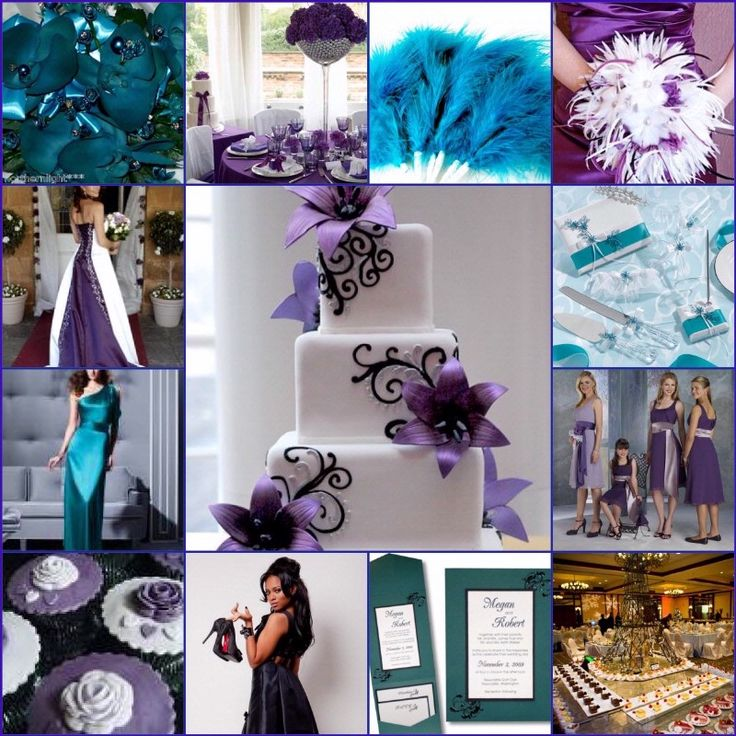 50 best Color Combo - Aqua and Purple images on Pinterest | Color ...