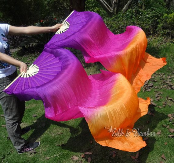 Hey, I found this really awesome Etsy listing at https://www.etsy.com/listing/101053548/1-pair-chinese-belly-dance-silk-fan-veil