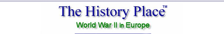 The History Place - World War II in Europe-Timeline