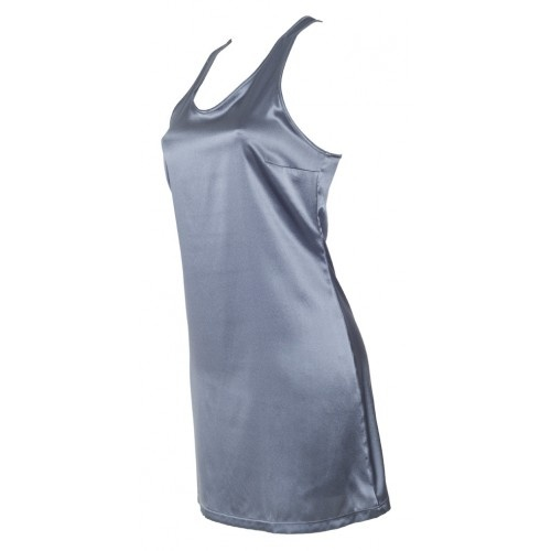 Silk graphite chemise from MC Lounge AW12 collection