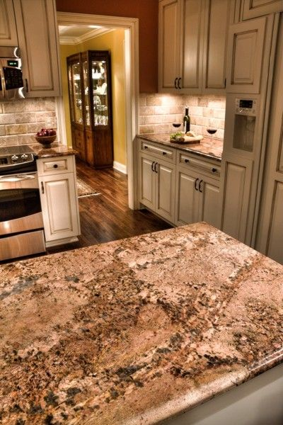 273 best images about granite with white cabinets on pinterest. Black Bedroom Furniture Sets. Home Design Ideas
