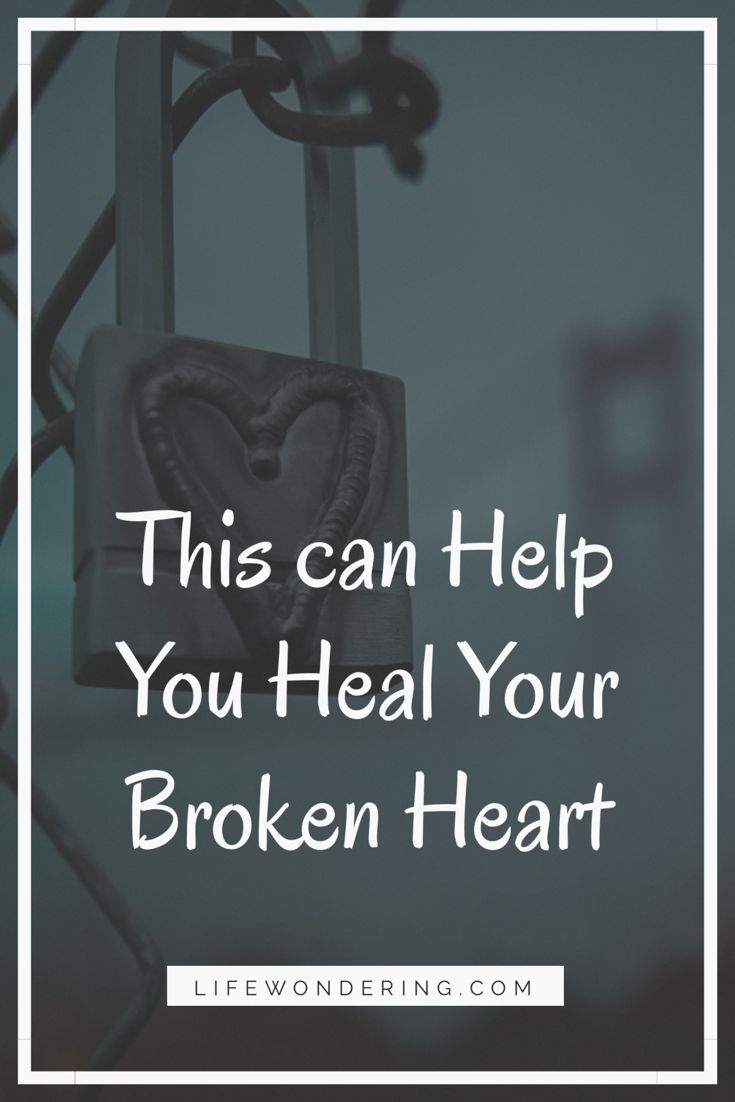 This can help you find relief if you're dealing with a broken heart. Read on for inspiration!