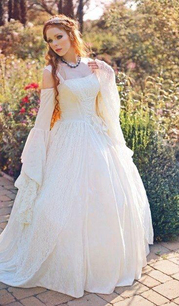 Gwendolyn Gown with Hoop- Best Seller!