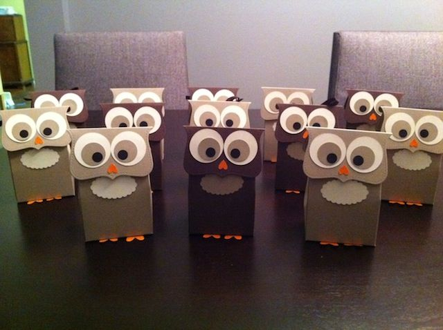 Owl Treat Bags by MathGoddess - Cards and Paper Crafts at Splitcoaststampers