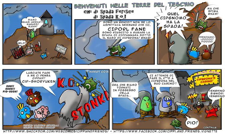 [#21] – Tales of Cippannara – Benvenuti nelle Terre del Teschio – Chi di spada ferisce di spada KO!