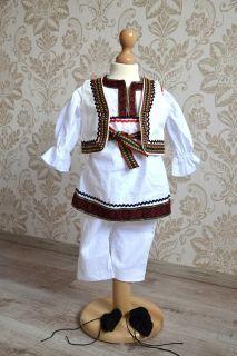 Costum popular Baietel