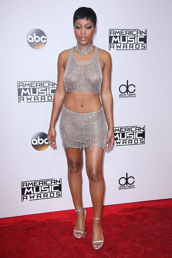 Keke Palmer attends the American Music Awards