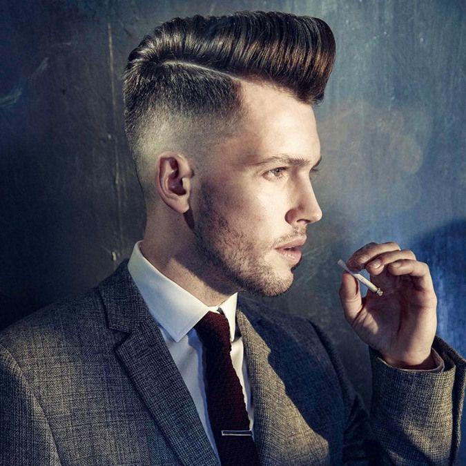 Elegante Männerfrisuren: Haartolle liegt voll im Trend!