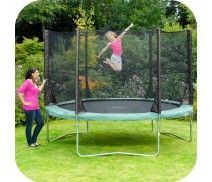 PLUM® SPACE ZONE 10FT TRAMPOLINE AND 3G® ENCLOSURE