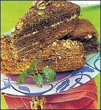 Medovník od cukrářky - czech recipe