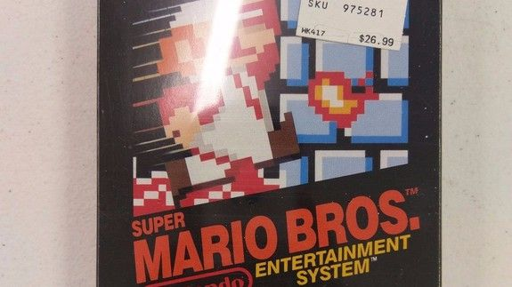 Super rare copy of 'Super Mario Bros.' sells for over $30000