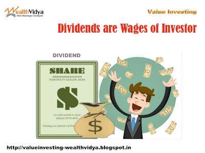 Value Investing: Dividends are Wages of Investor Slide