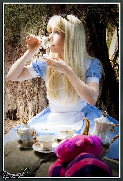 "cosplay ""Alice au pays des merveilles"""