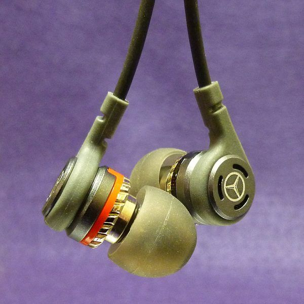 AMHE303 Mercedes-Benz Limited Edition X Torque in-ear headphones review