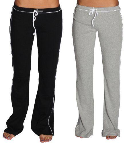 Alki'i 2-Pack Junior Womens lounge/workout/gym/yoga pants