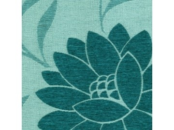 Dahlia Teal Roller Blind - wonderfully warm, bringing a fresh splash of colour to any home
