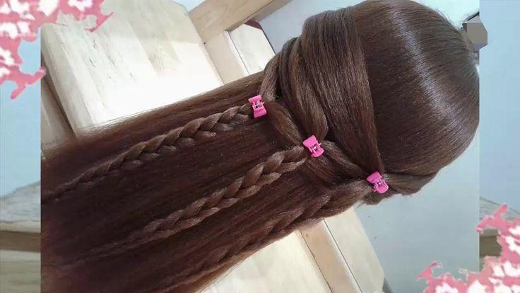 cabello de envidia!! con estos trucos en peinados 5 / Para fiesta de Nav...