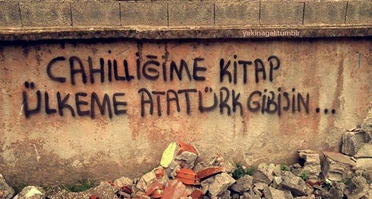 Cahilliğime kitap, ülkeme Atatürk gibisin... #sözler #anlamlısözler #güzelsözler #manalısözler #özlüsözler #alıntı #alıntılar #alıntıdır #alıntısözler #şiir #edebiyat