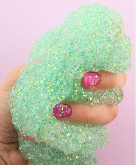 40 best peachybbies slime images on pinterest diy slime slime ariels fishbowl slime clear greenblue base fishbowl beads rose gold color shifting glitter ccuart Image collections