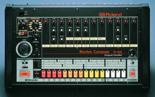 Roland TR-808 from Top Ten Classic Drum Machines