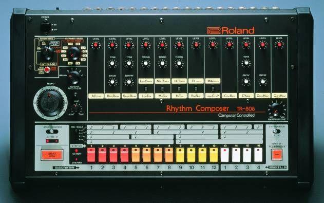 Roland TR-808 from Top Ten Classic Drum Machines