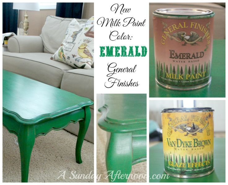 how to use general finishes milk paint