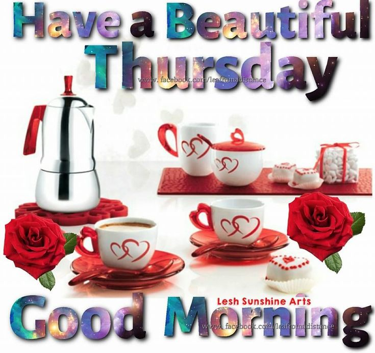 Have a beautiful Thursday Good Morning