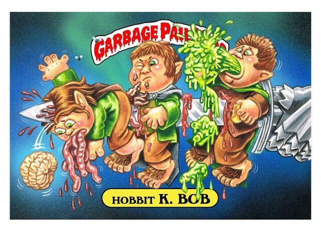 Garbage pail kids hobbit k bob