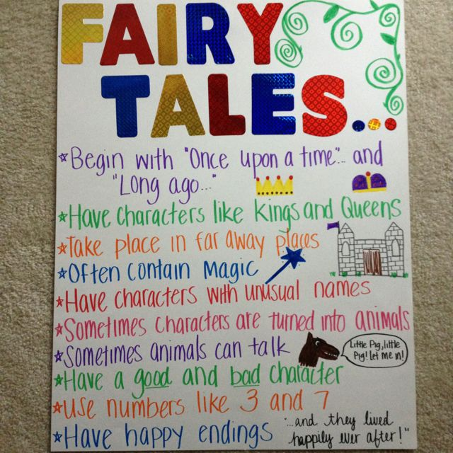 Fairy Tale Elements Investigated