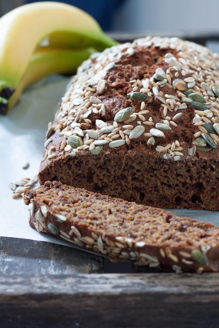 Banana bread {sans œuf |sucre | beurre } - Remplacer la farine blanche par de la complète