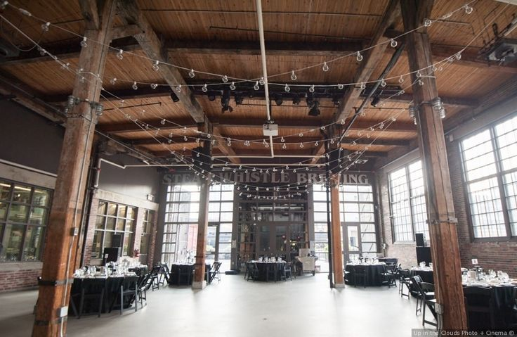 Venue: Steam Whistle Brewing, Photography by: Up in the Clouds Photo + Cinema ||| Kyle and Jessica's wedding in Toronto, Ontario