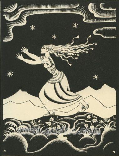 Kay Nielsen - Gretel, from Grimm's Fairy Tales