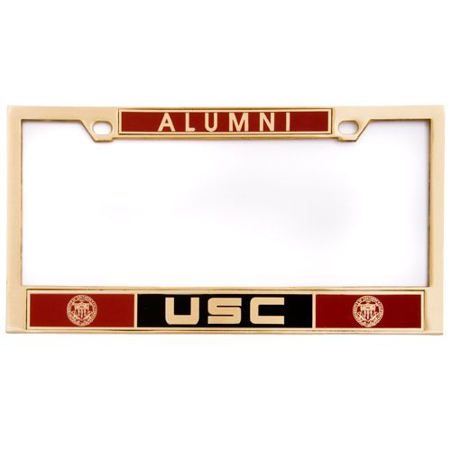 usc alumni license plate frame usc bookstores products