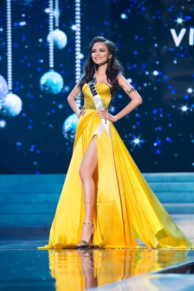 Miss vietnam 2018 dress color