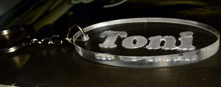 Acrylic Keychain Customized with your name