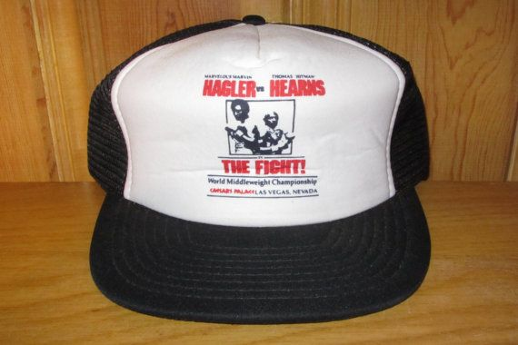 HAGLER vs HEARNS The Fight Original Promo Vintage by HatsForward
