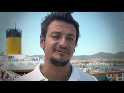 Los nuestros nos hacen diferentes... Gianfranco (Italia) - Jefe animación Costa Serena