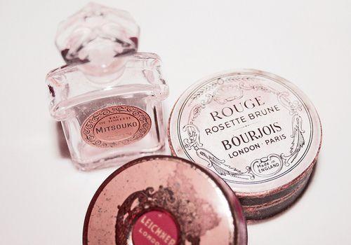 Vintage cosmetics.