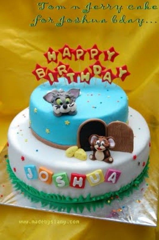 135 best Cakes Tom Jerry images on Pinterest Birthdays Tom