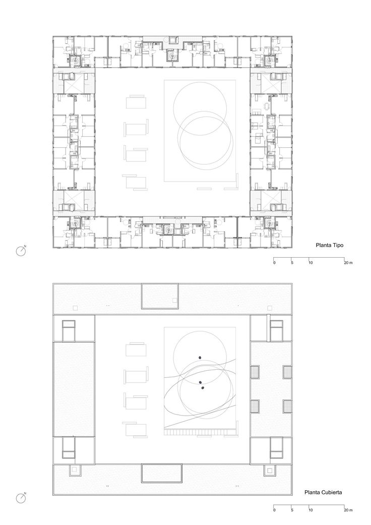 "Social Housing Rental ""Le Bois Habité"",Floor Plan"