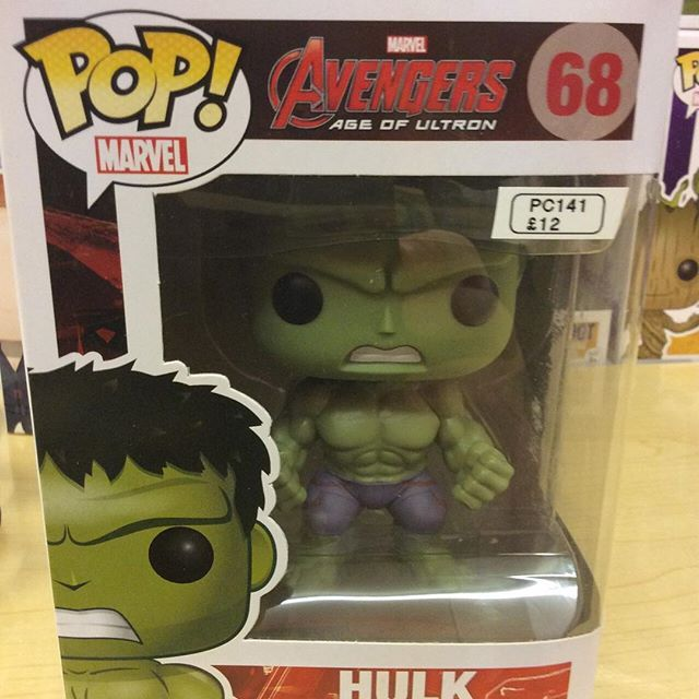 """Avengers age of Ultron Hulk funko pop #avengers #ageofultron #marvel  #hulk #funko pop Like this? I'm selling it on @depopmarket. Search for me: diversions on #depop ✌ "" Photo taken by @diversionsgifts.co.uk on Instagram, pinned via the InstaPin iOS App! http://www.instapinapp.com (07/17/2015)"