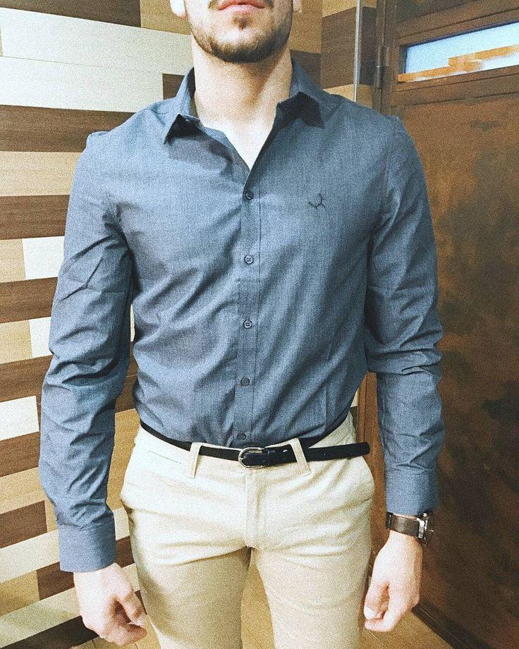 Camisa color mezclado de PioCCa con pantalón chino beige PioCCa.  info al WhatsApp 696828181  #piocca #camisa pantalón #hombre #moda #marca #ropa #madeinspain #madeinalmeria #hechoenalmeria #almeria #envios #españa