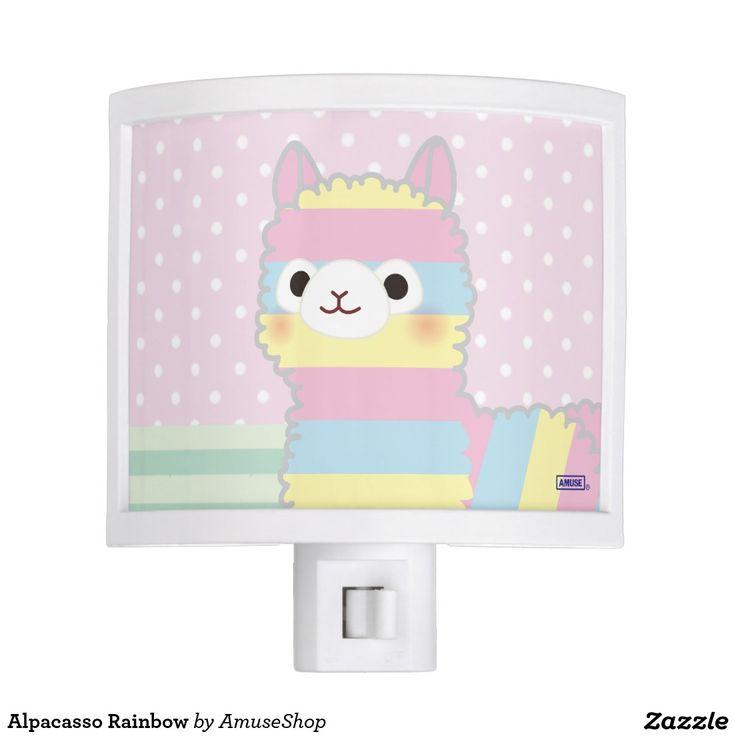 Alpacasso Rainbow Nite Lights #lámpara #lamps