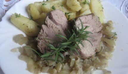 Fotorecept: Šťavnaté pečené mäso