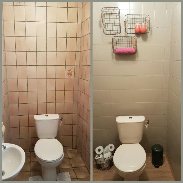 17 beste idee n over vinyl tegels op pinterest - Decoratie van wc ...