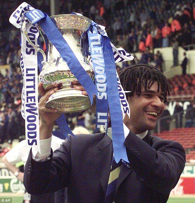 Ruud Gullit - 1997 FA Cup Final - Chelsea FC
